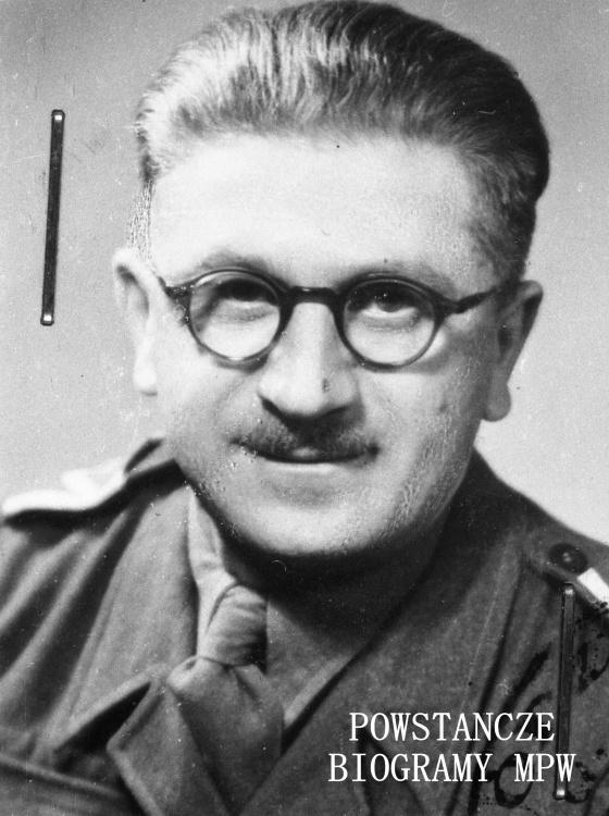 """wachm. Stanisław Wencel """"Dzik"""" (1904-1972). Fot. ze zbiorów Muzeum Powstania Warszawskiego, sygn. MPW-IH/1749"""
