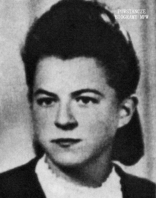 """Hanna Maria Zawadzka - Dziarska ps. """"Jędrek"""". Fot. AR MPW"""