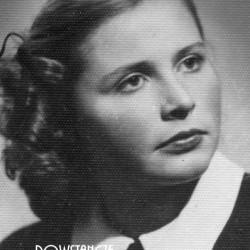 Maria Podobińska, po wojnie Mazierska