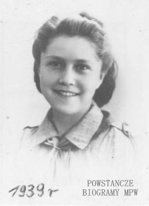 Janina Dobrzyńska - Moulis (1922-2001). Fot. AR MPW