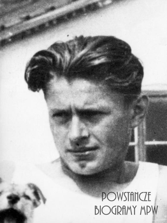 """Jerzy Trepka """"Zenon"""" (1924-1994). Fotografia ze zbiorów Muzeum Powstania Warszawskiego, sygn.MPW-IK/1063"""