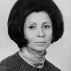 Alicja Moszkowska-Oszarowska - zdjęcie z 1974 r.