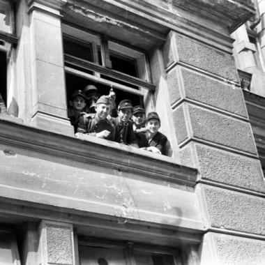 Fotografia z Powstania Warszawskiego