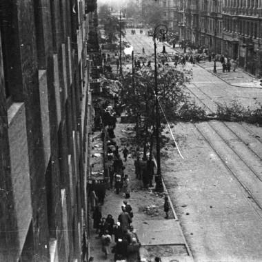 Fotografia z Powstania Warszawskiego autorstwa Mariana Grabskiego