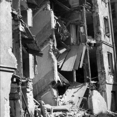 Fotografia z Powstania Warszawskiego autorstwa Edwarda Wojciechowskiego.