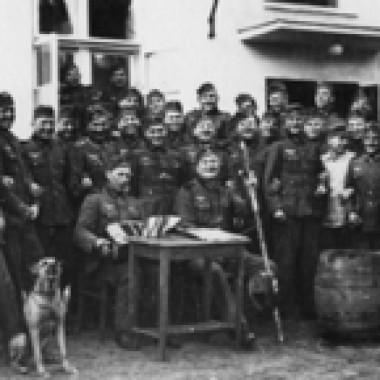Album  żołnierzy Landeschützen-Kompanie 52/VI