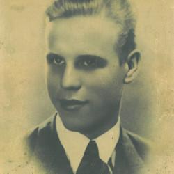 Stanisław Strzębała (1917-1944), zdjęcie udostępniła prawnuczka p. Weronika Wójcik
