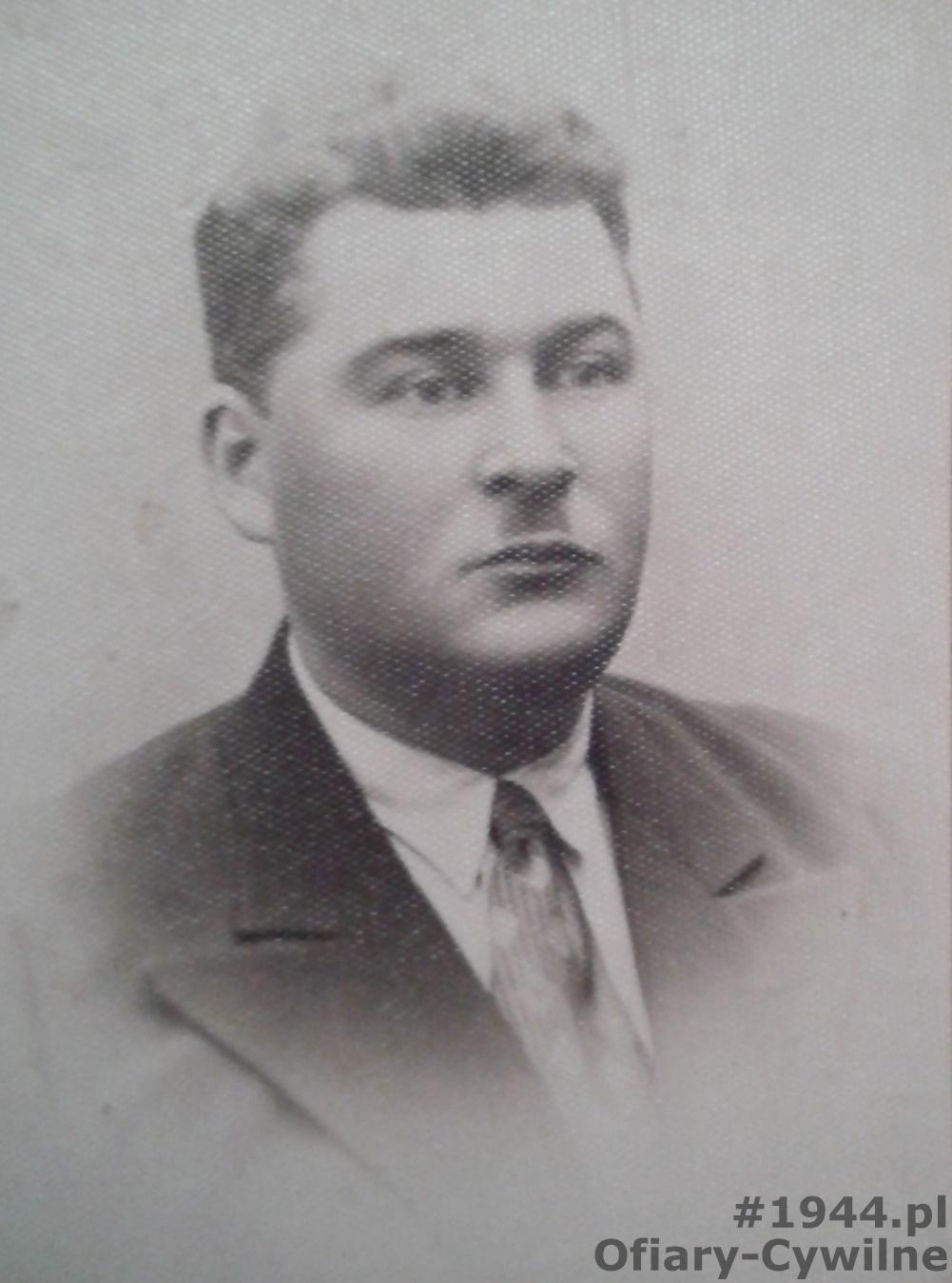 Czesław Czarnecki, zdjęcie przesłane przez panią Elżbietę Garal