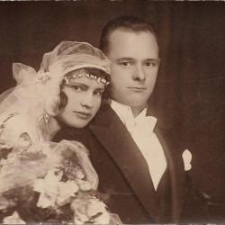 Helena i Zygmunt Urlich, fotografię udostępniła Pani Maria Stolarska