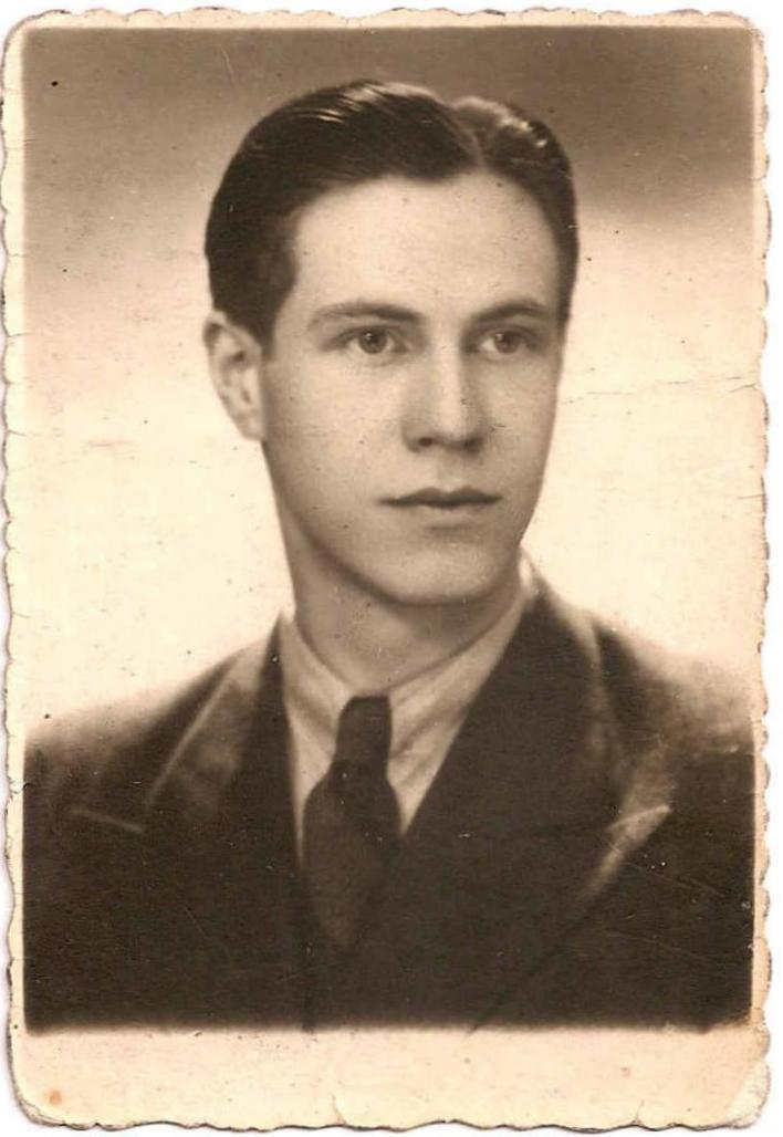 Jerzy Łągwa. Fot. z archiwum rodzinnego Danuty Joanny Majewskiej z d. Łągwa