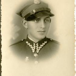 Zygmunt Łopatowski (1915-1944), zdjęcie udostępniła pani Jadwiga Ścisłowska