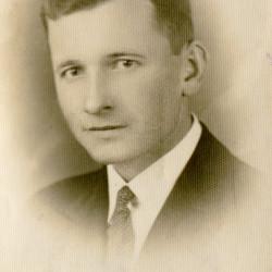Teofil Osiński, zdjęcie udostępnił syn Pan Jerzy Osiński