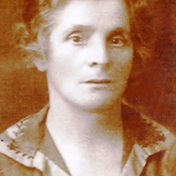 Józefa Łukaszewska (1879-1944), fotografię udostępniła Pani Jadwiga Żernicka-Kumutajtis