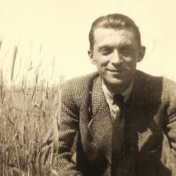 Jerzy Witold Marcinkowski (1912-1944), fotografię udostępniła pani Katarzyna Hutna