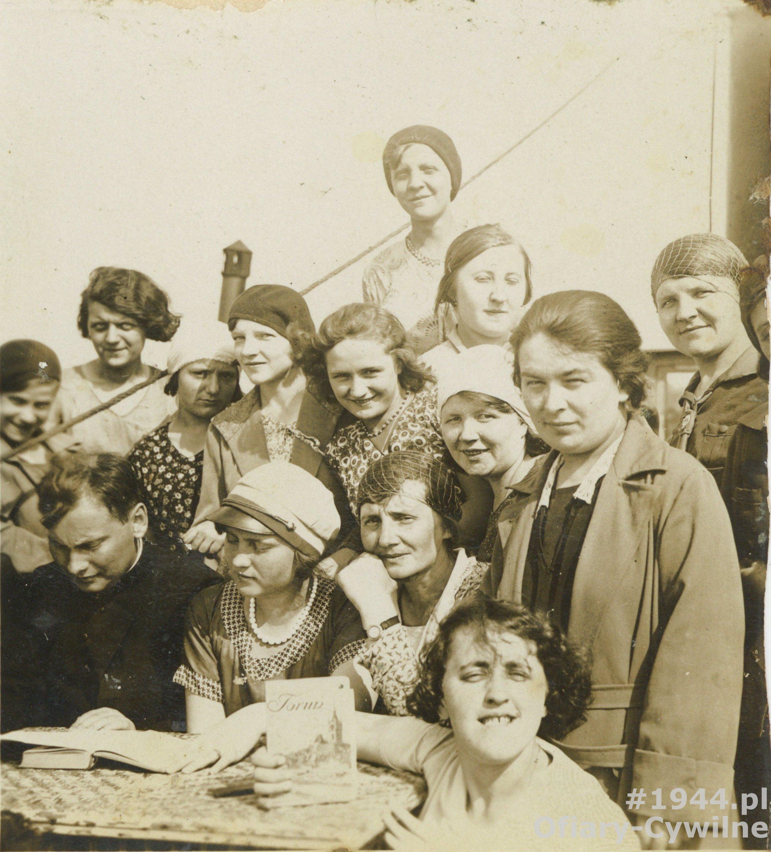 Marta Zakobielska druga od dołu po lewej, zdjęcie udostępniła p. Anna Siemienowicz