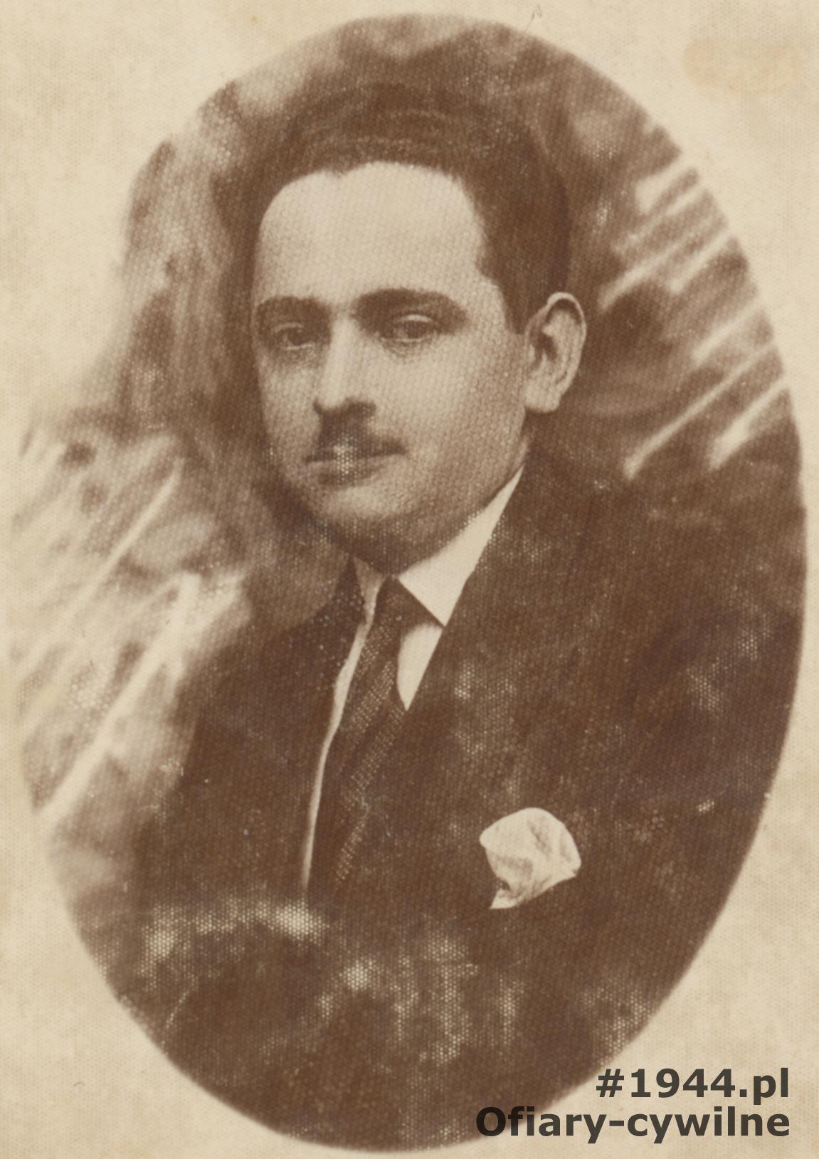 Wacław Iskierski zdjęcie ze zbiorów rodzinnych pani Małgorzaty Olszewskiej