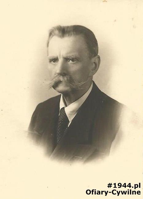 Józef Habrowski w wieku ok. 70 lat, ze zbiorów rodzinnych pani Jolanty Habrowskiej