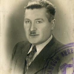 Zdjęcie z legitymacji wdanej przez Cech Krawców Chrześcijan m. Warszawy