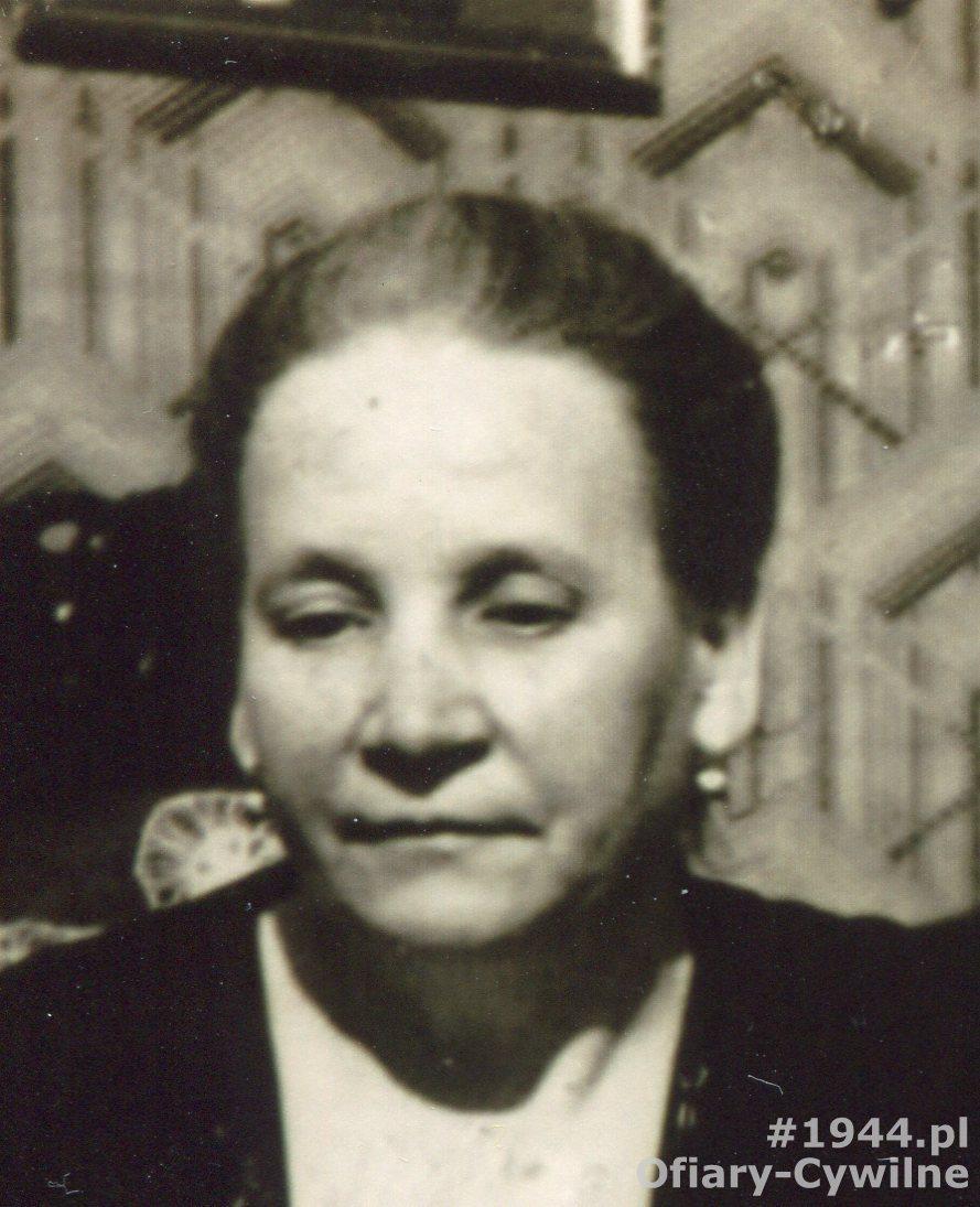Maria Gondek, Poznań 1938 r., zdjęcie udostępniła Pani Aleksandra Dopieralska