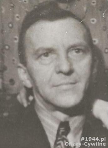 Wilhelm Weiss (1877-1944), zdjęcie udostępniła p. Aniela Binert