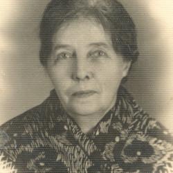 Roberta Czyżewska (1870-1944), zdjęcie ze zbiorów wnuka pana Andrzeja Iwanowskiego