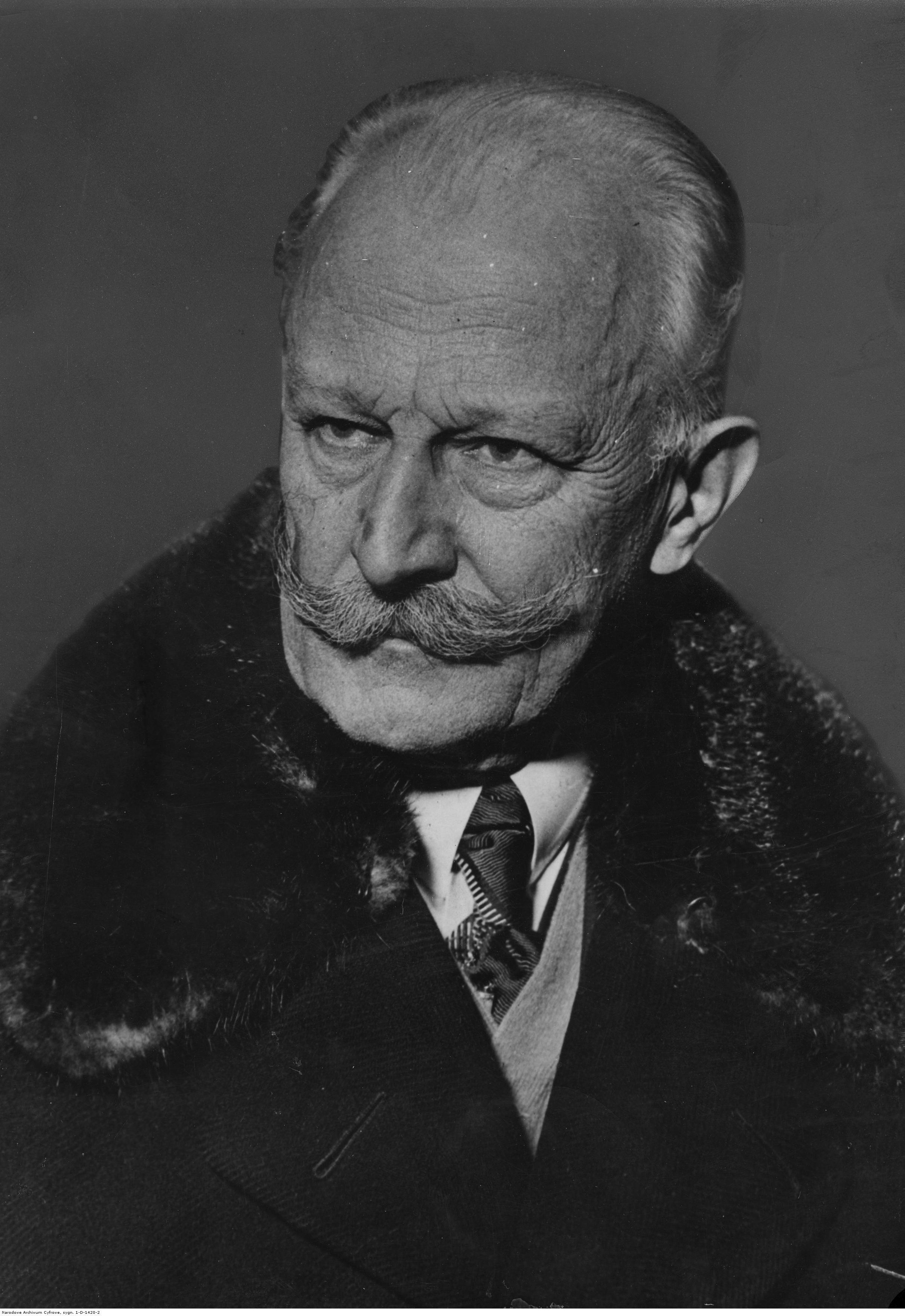 Stanisław Patek - ambasador Polski w Stanach Zjednoczonych. Fotografia portretowa ze zbiorów Narodowe Archiwum Cyfrowego  sygnatura: 1-D-1420-2