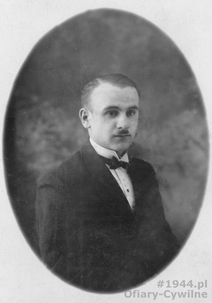 Eugeniusz Potajałło (1908-1944), zdjęcie udostępniła p. Anna Mazurkiewicz