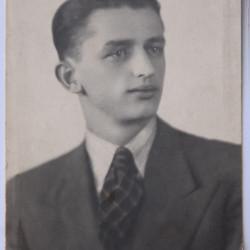 Jerzy Wacław Gębczyński (1910-1944), fotografię udostępniła Pani Agnieszka Gębczyńska