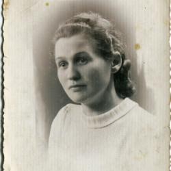 Janina Zembala (1908-1944), fotografię ze zbiorów rodzinnych Pani Barbary Warot