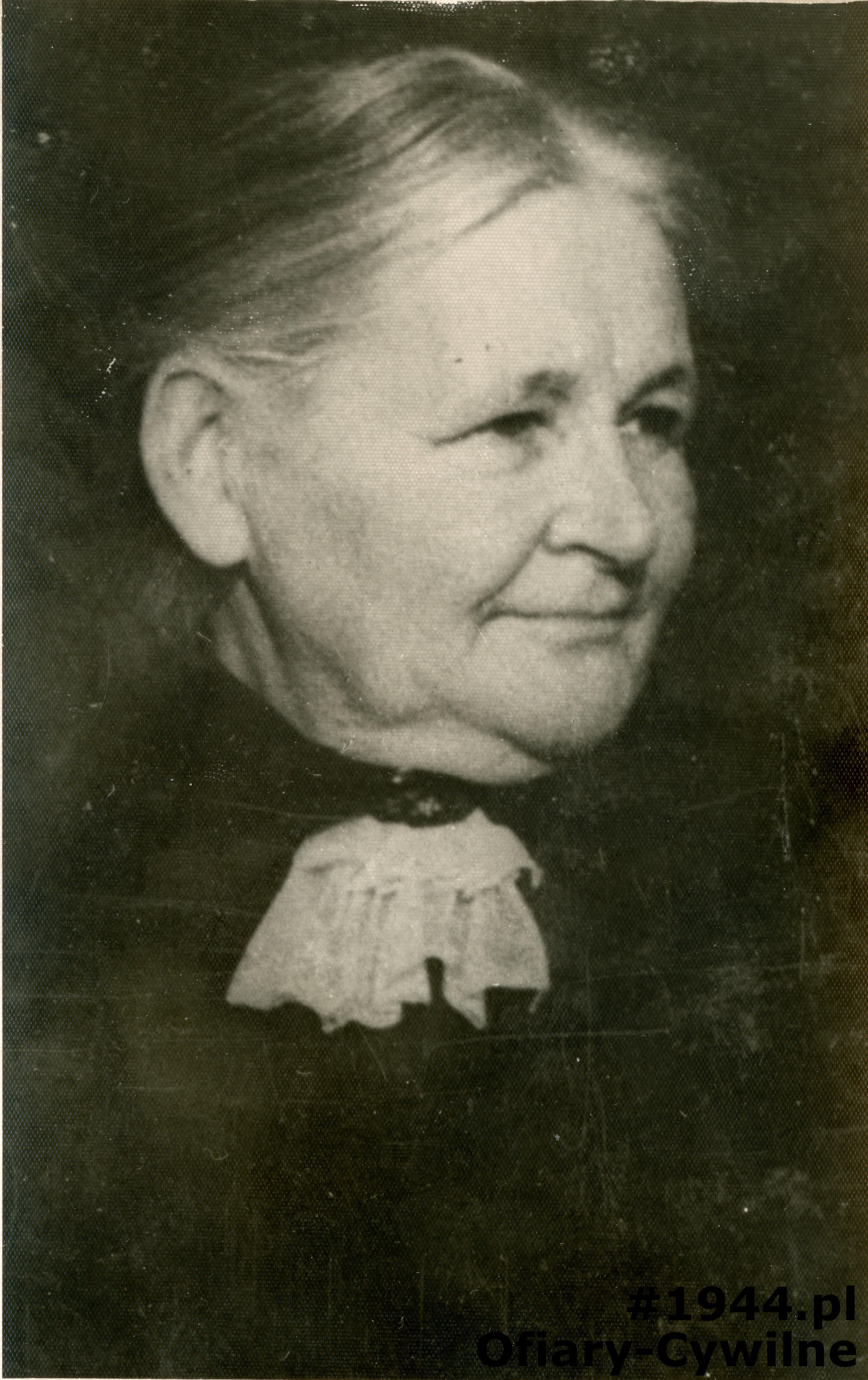 Wanda z Bieliński Hulewiczowa, zdjęcie ze zbiorów pani Agnieszki Rudzińskiej