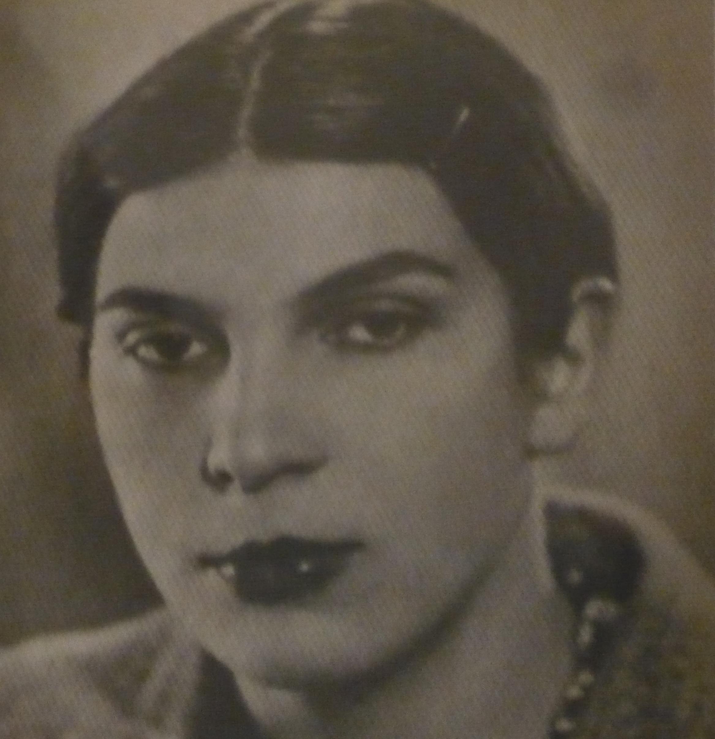 Krystyna Żołędziowska z domu Lamparska (1911-1944), zdjęcie udostępnione przez córka panią Krystynę Jolantę Sarosiek