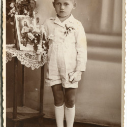 Przemysław Zembala/Zębala (1931-1944), fotografią ze zbiorów rodzinnych Pani Barbary Warot