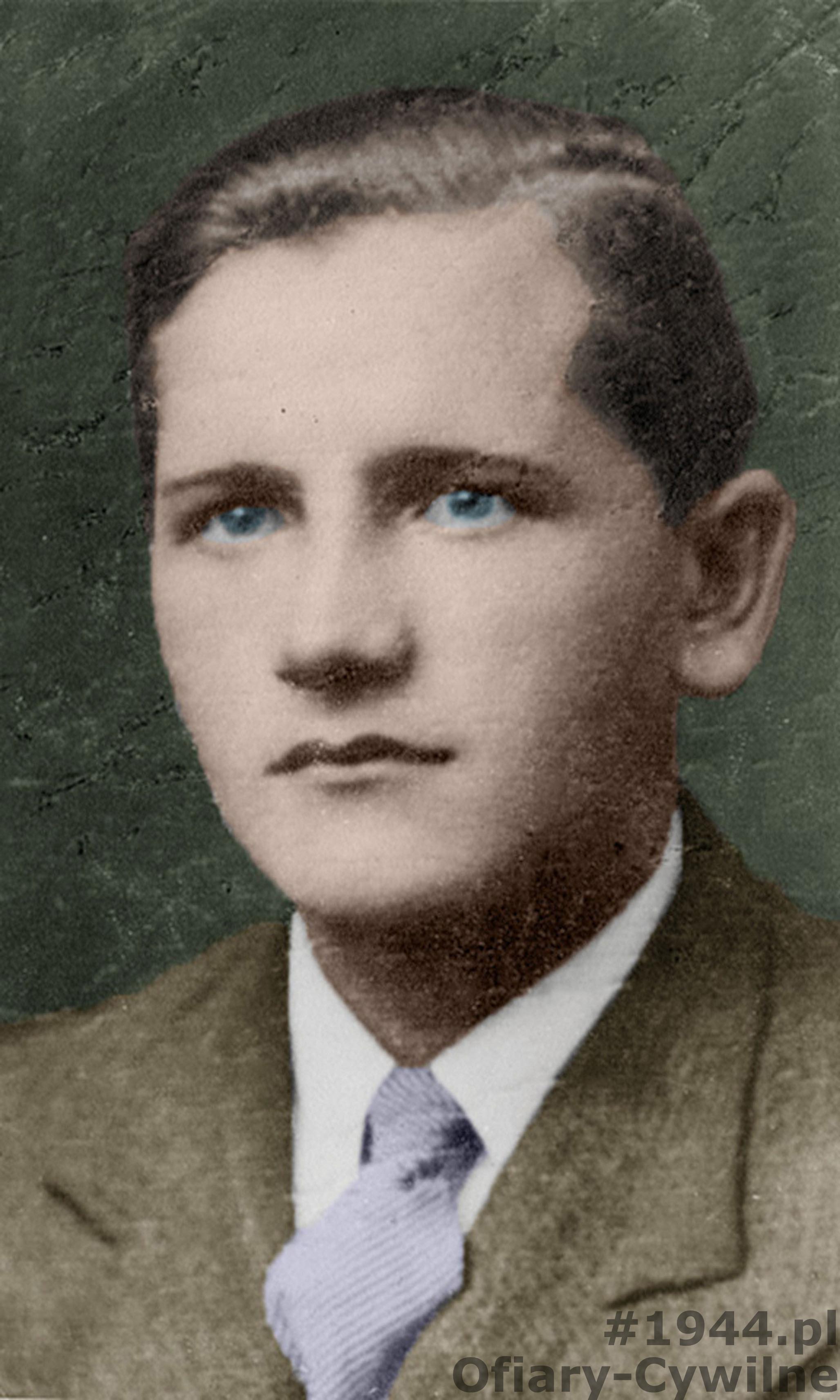 Edward Fornal (1919-1944), zdjęcie udostępnione przez pana Wojciecha Zalewskiego
