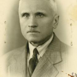 Ignacy Głażewski (1875-1944), fotografię udostępnił wnuk Pan Tadeusz Głażewski