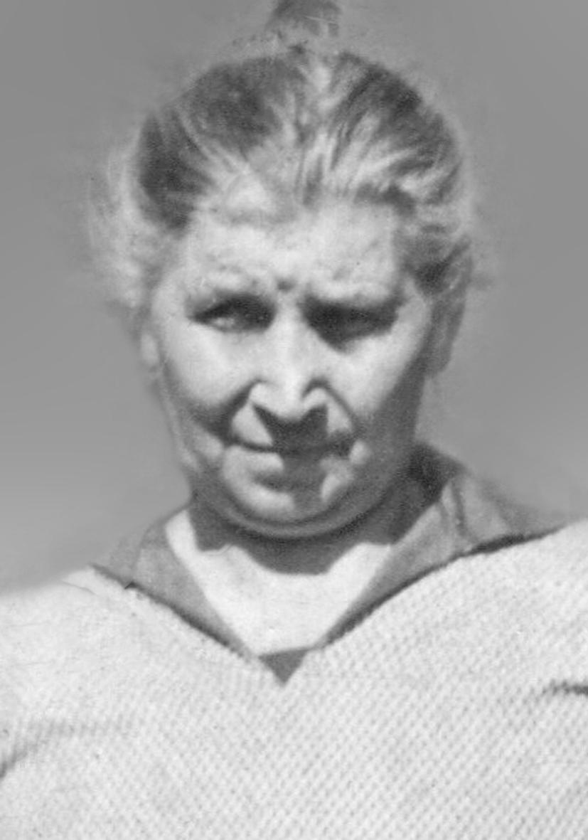 Katarzyna Wawrzyniak (1869-1944), fotografię udostępnił Pan Marek Szołajski