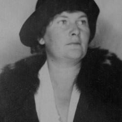 Irena Anioł (1892-1944), zdjęcie ze zbiorów rodzinnych